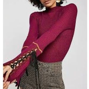 Free People | Mountaineer Cuff Mock Neck Thermal